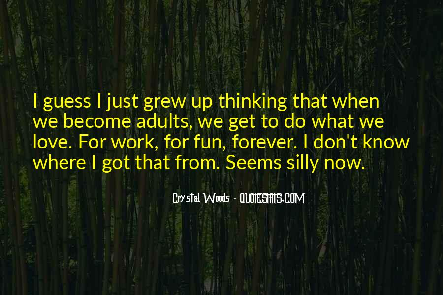 I Love You Since Childhood Quotes #129095