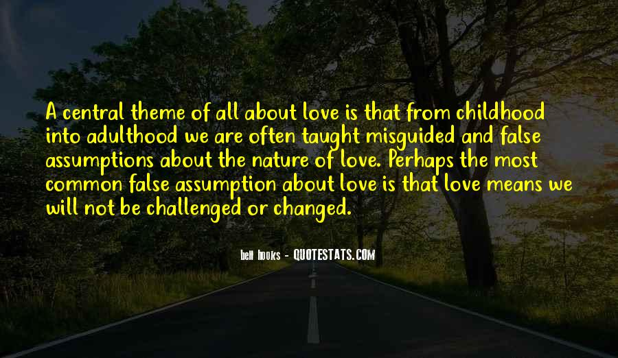 I Love You Since Childhood Quotes #24161