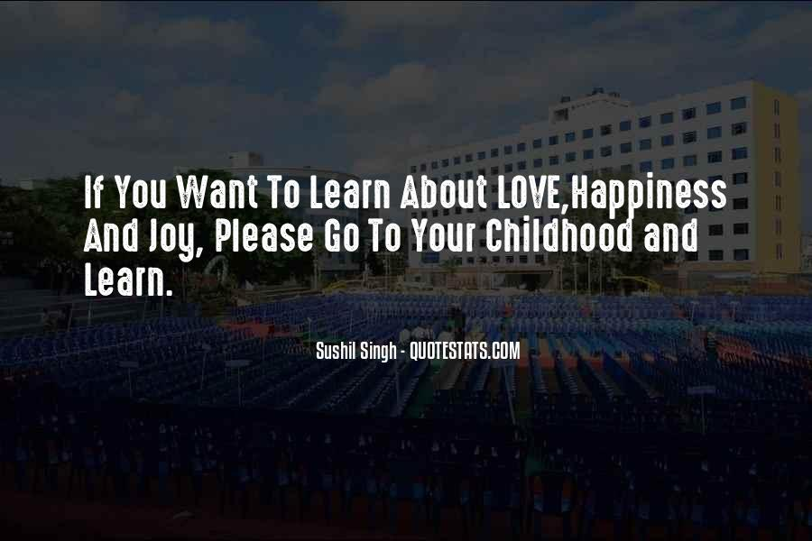 I Love You Since Childhood Quotes #57120