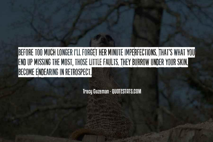 I Love Your Imperfections Quotes #973459