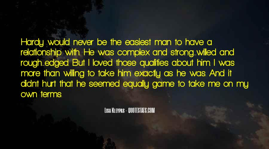 I Loved Him And He Hurt Me Quotes #276633