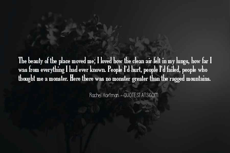 I Loved Him And He Hurt Me Quotes #348462