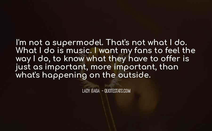 I May Not Be A Supermodel Quotes #161693