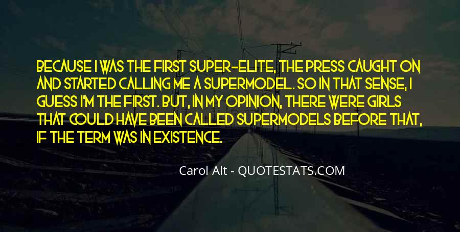 I May Not Be A Supermodel Quotes #452462