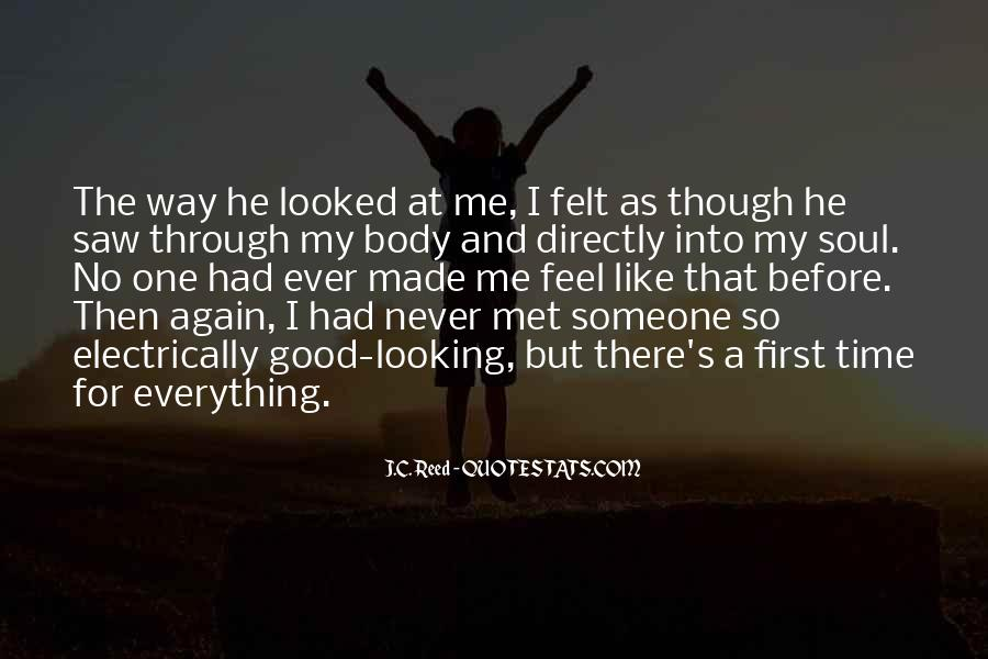 I Met My Love Again Quotes #1100274