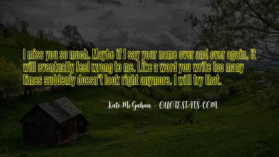 I Miss U Quotes #13623