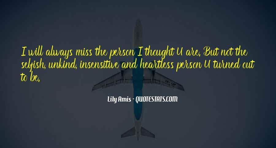 I Miss U Quotes #1420049