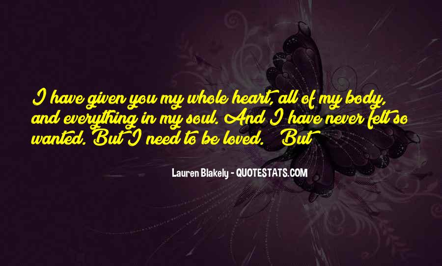 I Need All Of You Quotes #354815