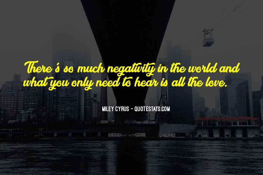 I Need To Hear I Love You Quotes #820008