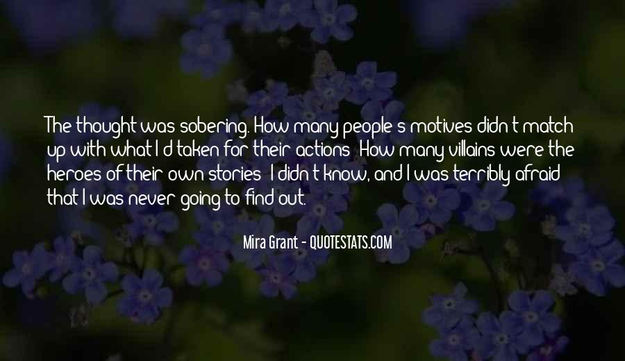 I Never Thought That Quotes #125707