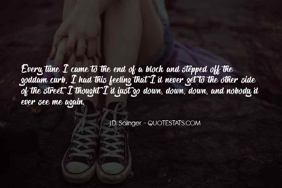 I Never Thought That Quotes #128095
