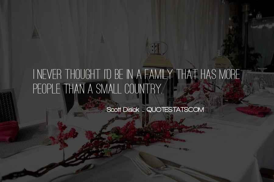 I Never Thought That Quotes #37575