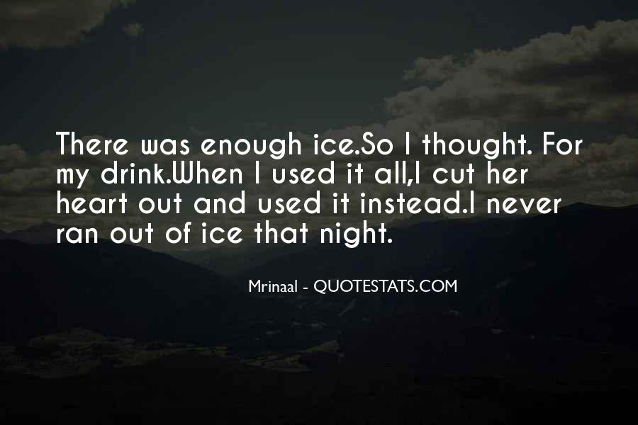 I Never Thought That Quotes #39117
