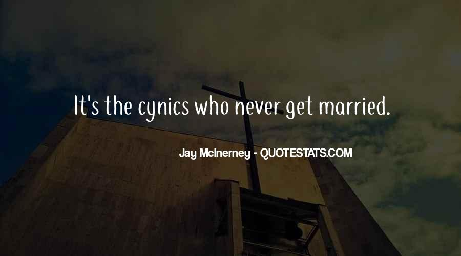 I Never Want To Get Married Quotes #106222