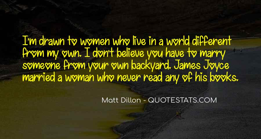I Never Want To Get Married Quotes #89529