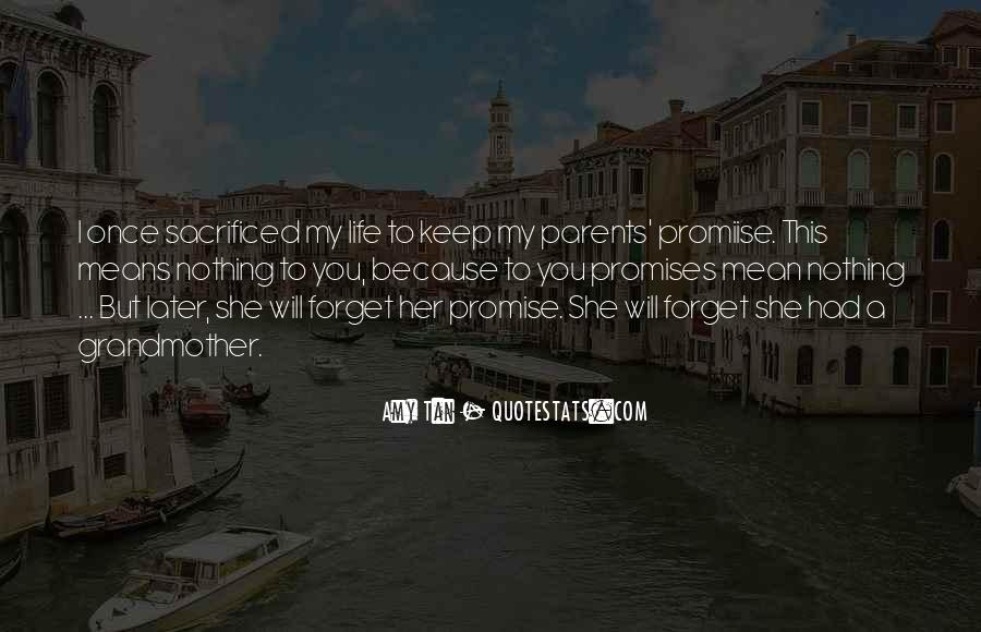 I Promise Not To Let You Go Quotes #10664