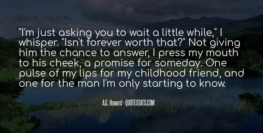 Top 36 I Promise To Wait For You Quotes: Famous Quotes ...