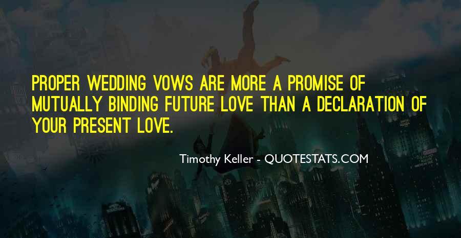 I Promise Wedding Quotes #1673245