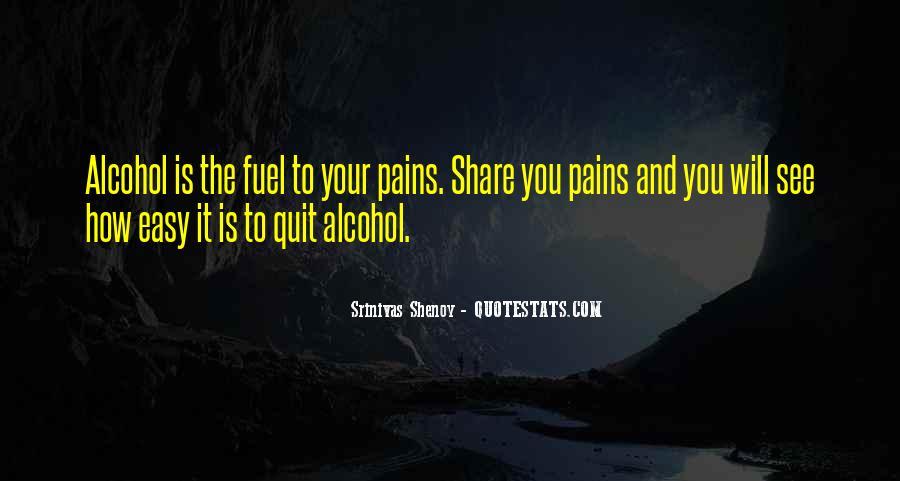 I Quit Alcohol Quotes #248062