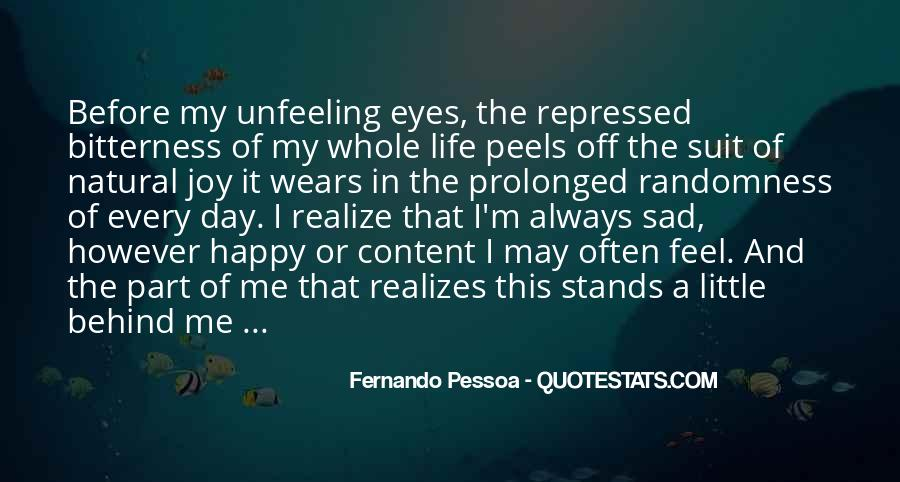 Quotes About Feel Sad #182700