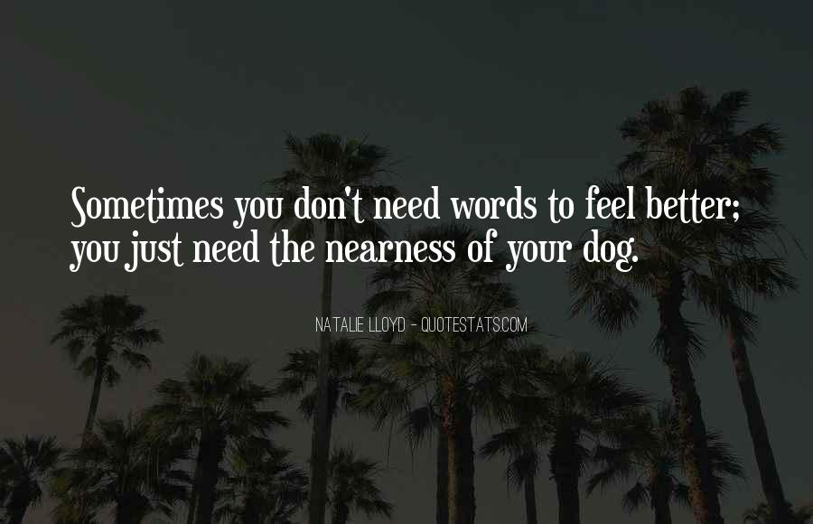 Quotes About Feel Better Soon #15292