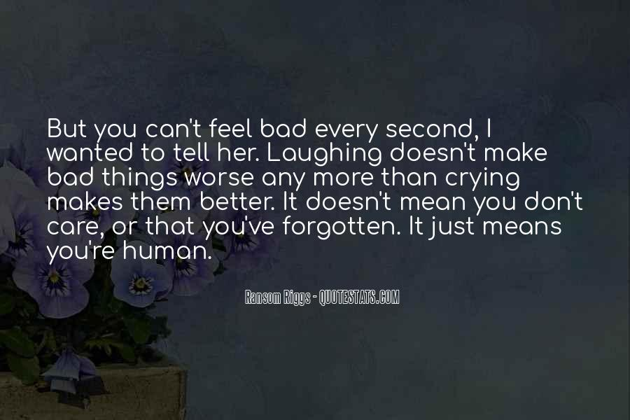 Quotes About Feel Better Soon #8862
