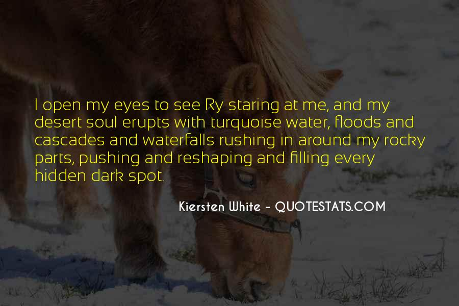 I See You Staring At Me Quotes #443223