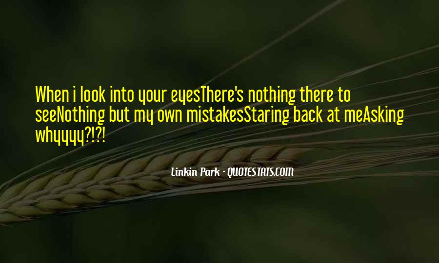 I See You Staring At Me Quotes #573065