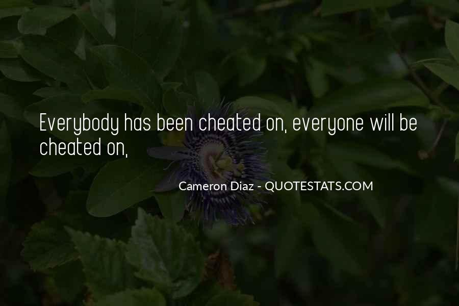 I Should Have Cheated Quotes #117355