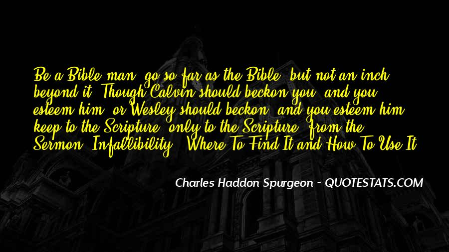 Quotes About The Bible From The Bible #153675