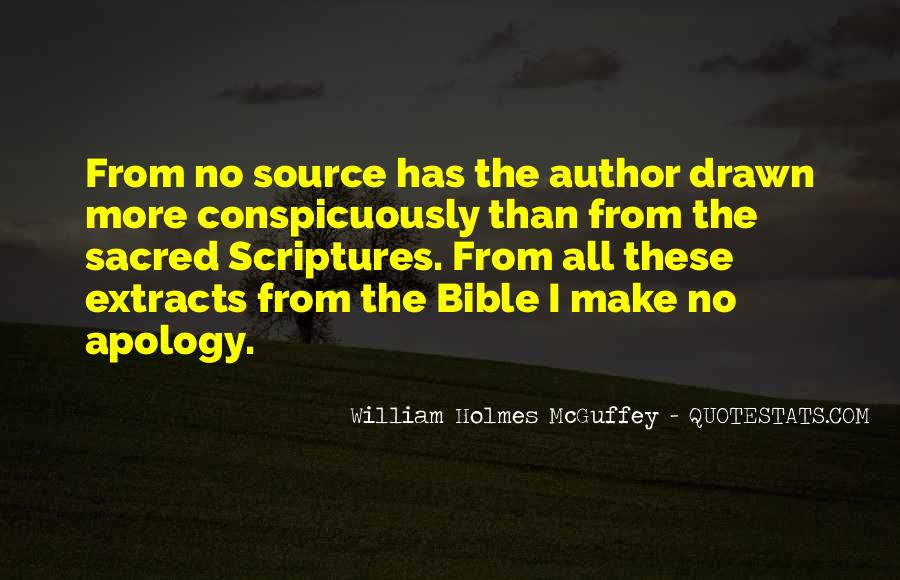 Quotes About The Bible From The Bible #238849