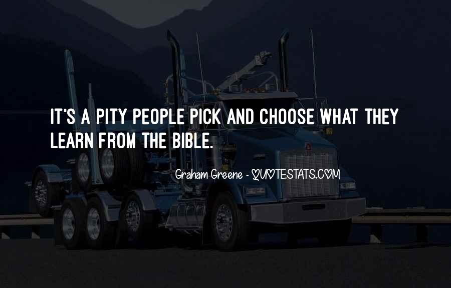 Quotes About The Bible From The Bible #256020