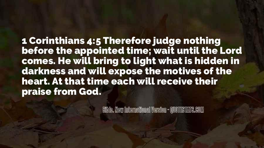 Quotes About The Bible From The Bible #257792