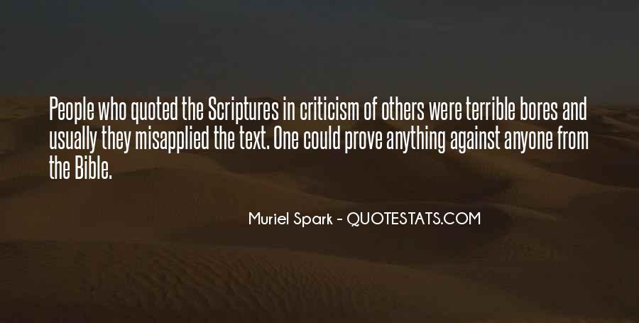 Quotes About The Bible From The Bible #426754