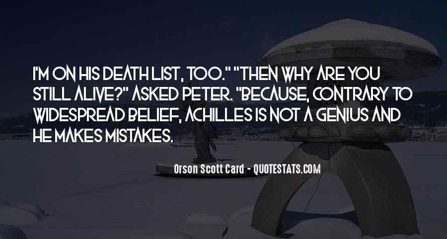 I Still Alive Quotes #437956