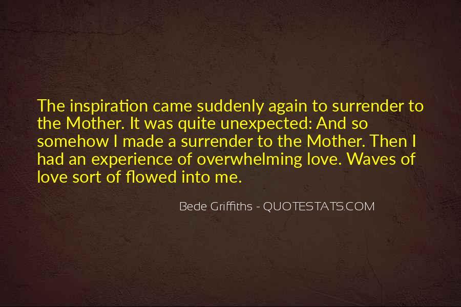 I Surrender Love Quotes #1263378