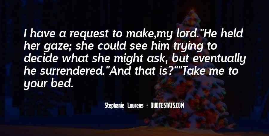 I Surrender Love Quotes #1408207