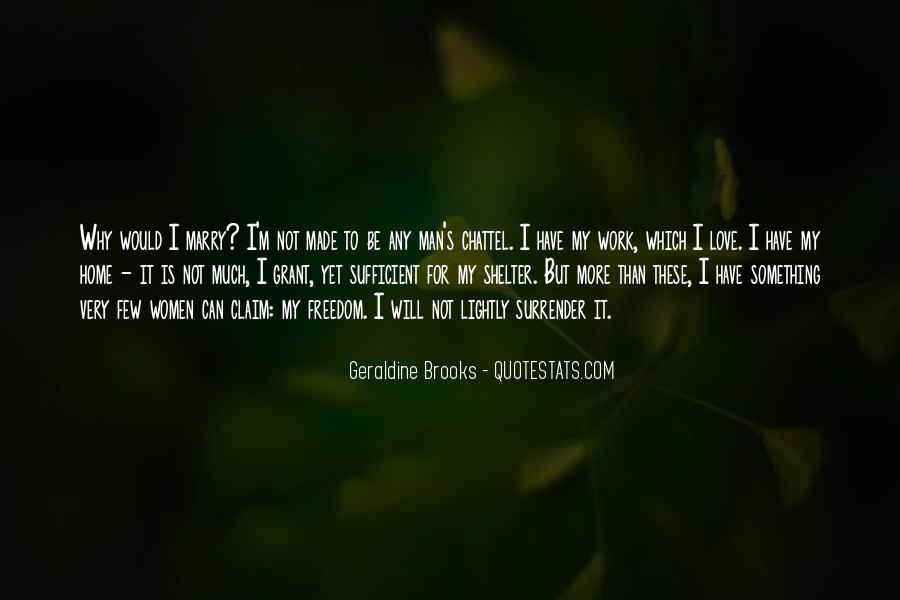 I Surrender Love Quotes #1434045