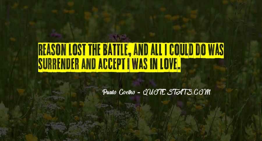 I Surrender Love Quotes #1472128