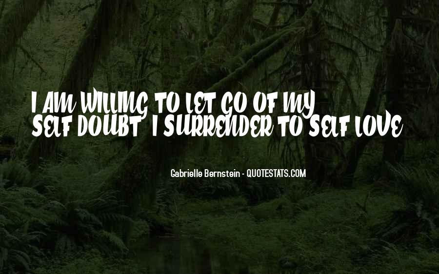 I Surrender Love Quotes #1777579
