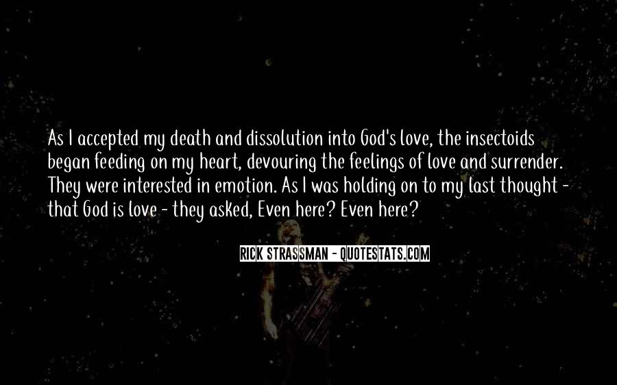 I Surrender Love Quotes #255859