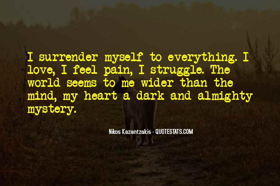 I Surrender Love Quotes #823266