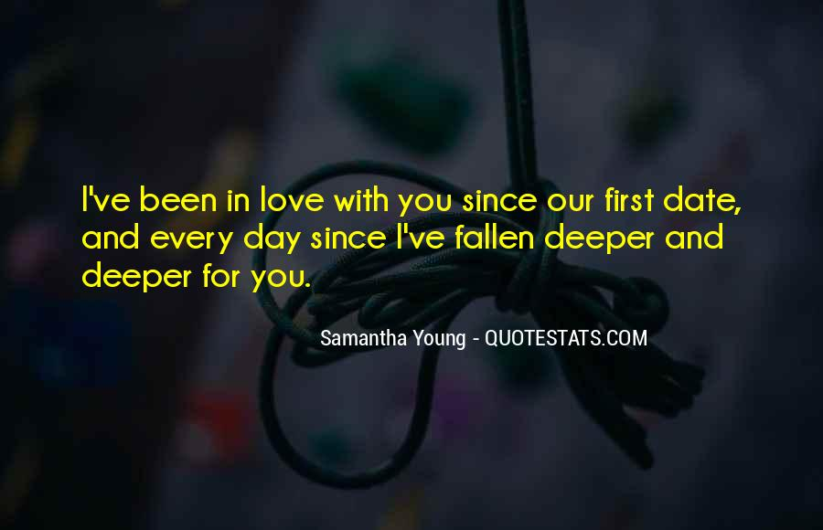 I Think I Have Fallen In Love Quotes #62332