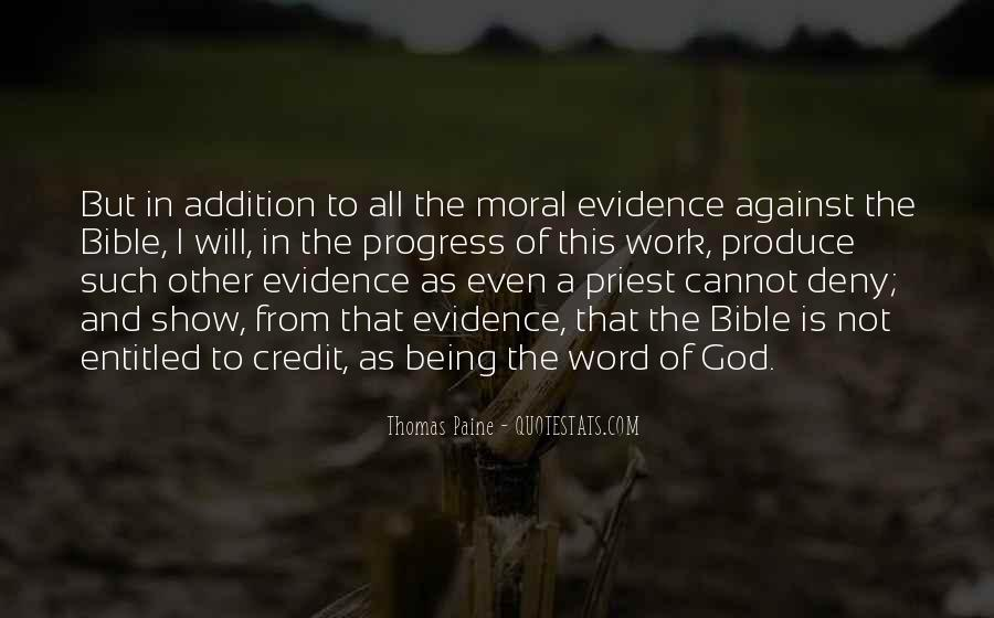 Quotes About The Bible Being The Word Of God #1742762