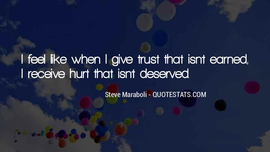 I Trust You But You Hurt Me Quotes #528703