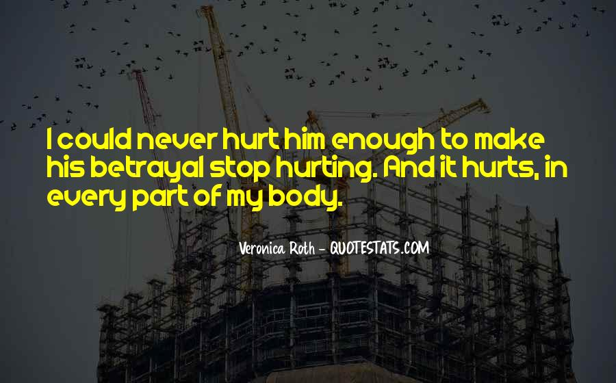 I Trust You But You Hurt Me Quotes #806264