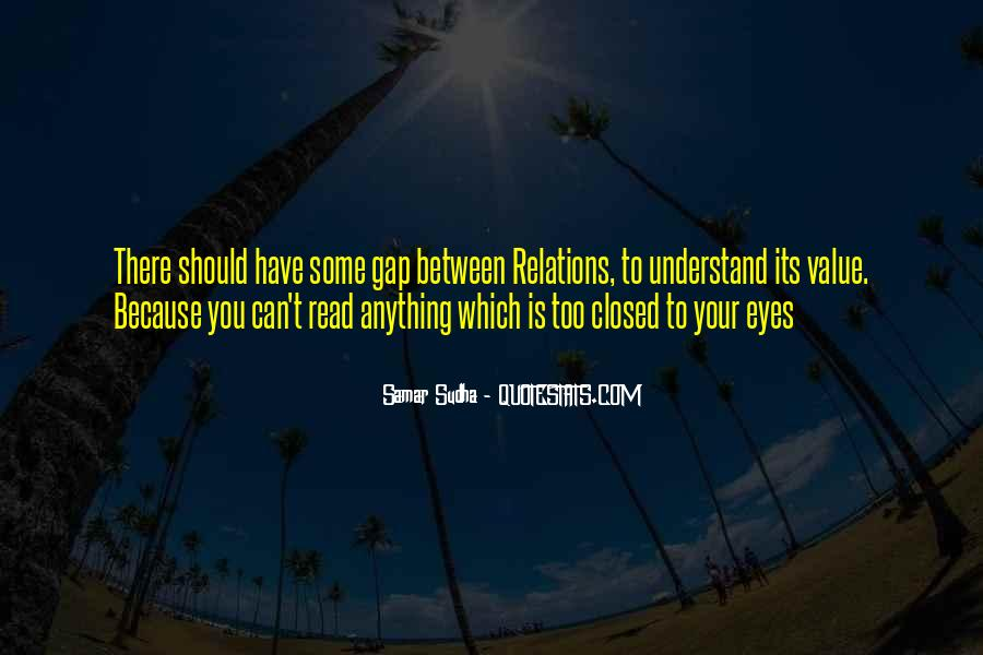 I Value My Relationship Quotes #631005