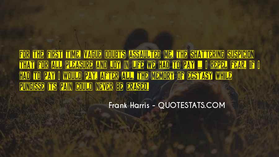 Quotes About Fear And Suspicion #1590109