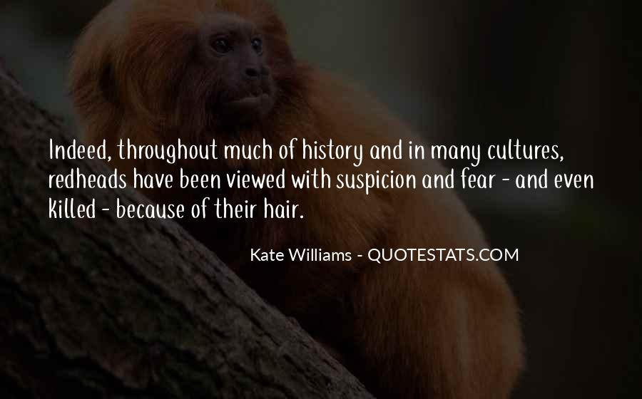 Quotes About Fear And Suspicion #1623594