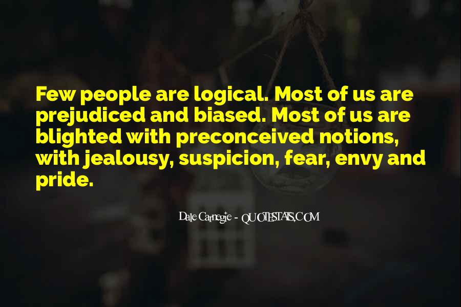 Quotes About Fear And Suspicion #231873